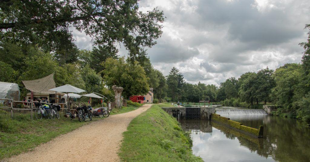 Maison éclusière La Touche - Canal de Nantes à Brest