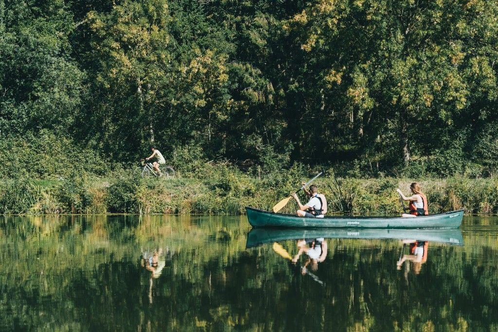 Vélo canoe - Jeremy Jehanin - Canal de Nantes à Brest