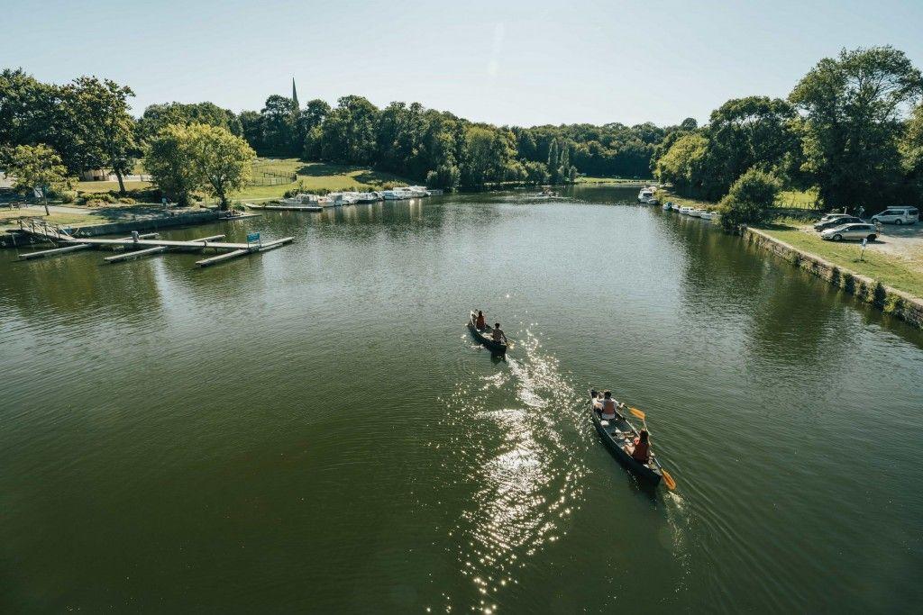 Canal de Nantes à Brest en Canoe - Jérémy Jehanin