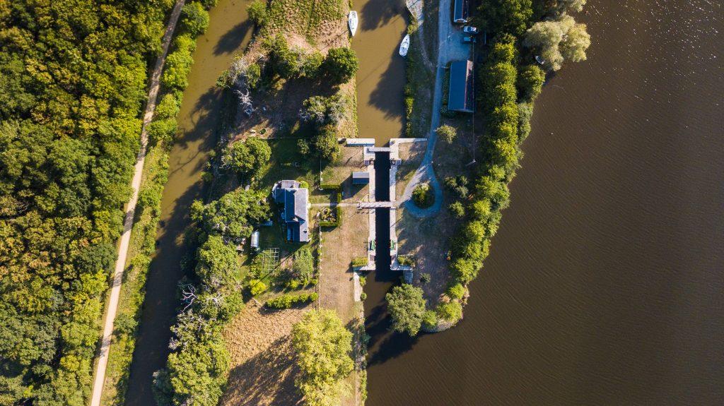 Ecluse du Bellion à Fégréac le long du Canal de Nantes à Brest @Jérémy Jéhanin