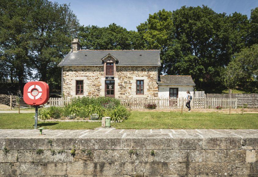 Ecluse de Melneuf à Plessé le long du Canal de Nantes à Brest @Jérémy Jéhanin